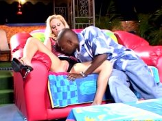 Black dick for white blonde chick Simone Schiffer