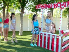 Caught At The Kissing Booth