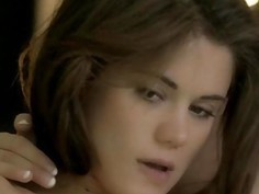 Naughty russian lesbian slaves on the bed