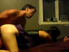 Hussy amateur girl gets fingered in doggy style