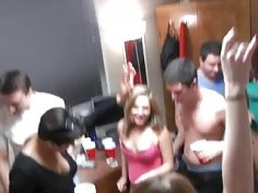 Wicked women are full of wetness during gangbang