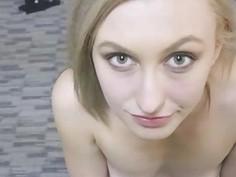 Tall Blonde Alexa Grace Sucking Off FakeProducer