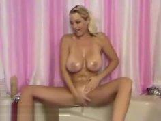 Incredible Amateur Big Tits, Milf, Blonde Scene Unique