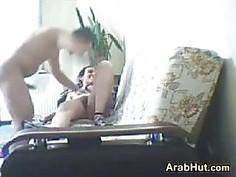 Arab Couple Having Sex At Home